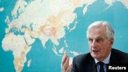 Мишель Барнье, глава ведомства Европейской комиссии по регулированию внутреннего рынка ЕС