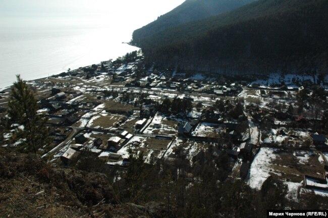 Вид на поселок Большие Коты сверху