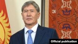 Президент Кыргызстана Алмазбек Атамбаев.