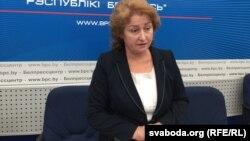 Намесьніца міністра адукацыі Раіса Сідарэнка