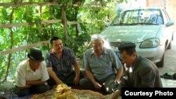 Армудундагы Кыргыз кыштагынын тургундары