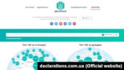 Інтернет-сайт «Декларації» declarations.com.ua