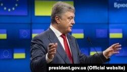 Президент України Петро Порошенко. Брюссель, 9 липня 2018 року