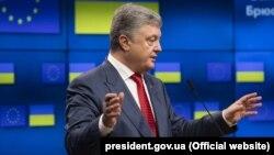 Петр Порошенко на саммите Украина-ЕС, Брюссель, 9 июля 2018 года
