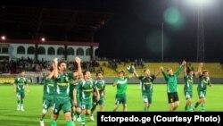 Футболисты кутаисского клуба «Торпедо» (архивное фото)