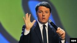 Италијанскиот премиер Матео Рензи