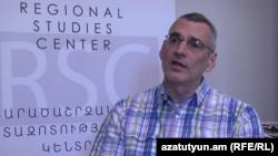 Руководитель Центра региональных исследований Ричард Киракосян (архив)