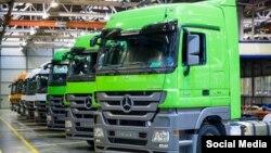 Германияның Daimler автоконцерні құрастырған жүк көліктері.