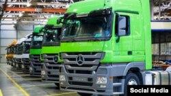 Daimler ýük ulaglary