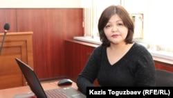 Адвокат Айман Омарова.