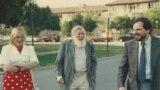Ирина Генис, Андрей Синявский и Александр Генис, Стэнфордский университет, 1990-е гг.