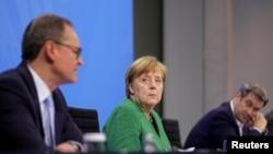 Angela Merkel, după întâlnirea de pe 23 martie cu liderii regionali ai Germaniei