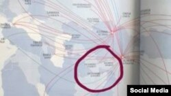 Нақшаи парвозҳои ширкати «Air Astana»