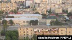 Pamje e kryeqytetit Baku në Azerbajxhan