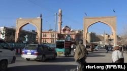 از دروازههای شهر غزنی در شرق افغانستان