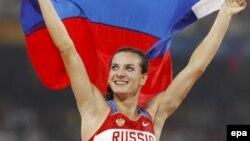 Олимпийская чемпионка Пекина-2008 Елена Исинбаева