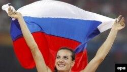 Победа Елены Исимбаевой на Олимпиаде в Пекине воспринимается как победа всей страны