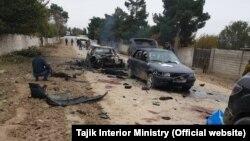 Фото пресс-службы МВД Таджикистана