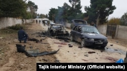 Several guards were killed in the attack on the Ishqobod border post in November 2019.