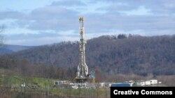 Буровая установка по добыче сланцевого газа