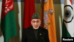 Претседателот на Авганистан Хамид Карзаи