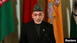 Afghan President Hamid Karzai said Indian firms should look at the successful precedent of Chinese investments.