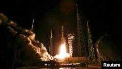 «Атлас-5» с кораблем «Старлайнер», запуск на мысе Канаверал.