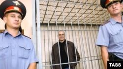 Михаил Ходорковский на судебном заседании