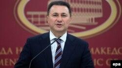 Македонияның отставкаа кеткен премьер-министрі Никола Груевский.