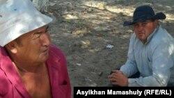 Жители села Кейден Жанакорганского района Кызыординской области.