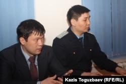 Прокуроры Медеуской районной прокуратуры города Алматы. Алматы, 7 февраля 2013 года.