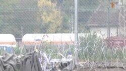 Bodljikava žica na granici Hrvatske i Mađarske
