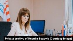 Oliveru Ivanoviću je mesec dana crtana meta na čelu u predizbornom spotu: Ksenija Božović