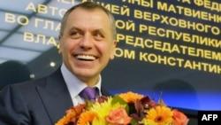 Глава Верховного совета Крыма Владимир Константинов