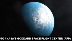 Планета TOI 700 d