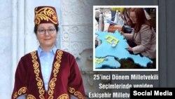 Искешәһәр татары Рухсар Демирел парламентка сайланды