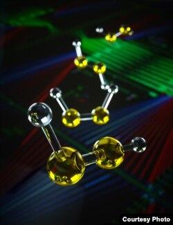 تصویر دیگری از شبیهسازی پردازش کوآنتومی مولکولها
