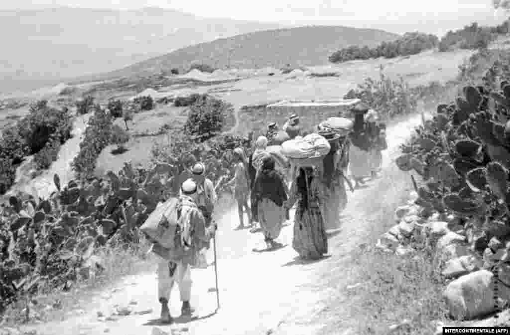 Тоді близько 700 тисяч палестинців через війну залишили свої домівки чи були примусово виселені ізраїльським військом