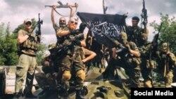 Ляшук з ісламскім сьцягам