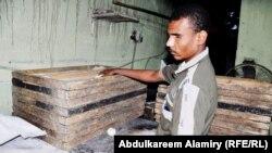 عصام صالح جاسم في المخبز