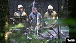 О пожаре на месте падения Ан-12 сообщили экипажи других самолетов