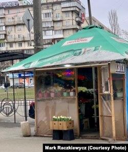 Продавці квітів у Києві готуються до «свята квітів і весни», 2 березня 2021 року