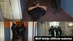 Hapšenje osumnjičenog u Srbiji