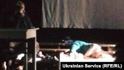 Спектакль в Театре переселенца