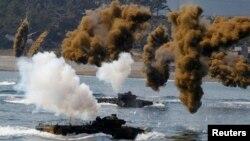 Vojne vežbe SAD i J. Koreje, 25. april 2013.