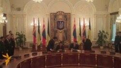 Президенти Монголії та України