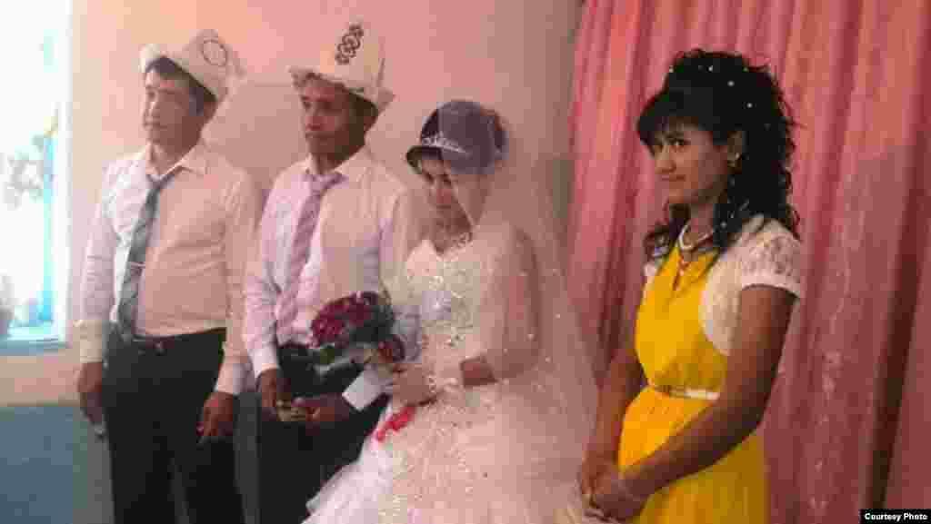 25-летний Курсан и 18-летняя Мафтуна дружили 6 месяцев и решили пожениться
