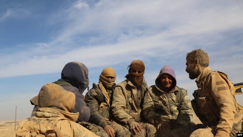 Syrian Democratic Forces in northern Syria on November 7, 2016