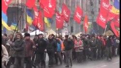 Kiyevdə yürüş keçirilib