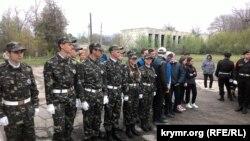 Змагання учасників «Юнармії» в Білогірському районі Криму